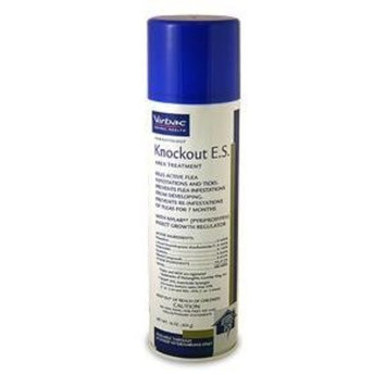 Virbac Knockout E.S. Area Treatment Carpet Spray, 16-Ounce