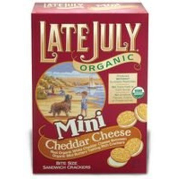 e July Mini Cheeze Sandwich Cracker 5 Oz (Pack of 12)
