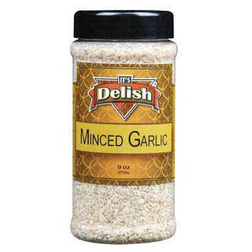 Minced Garlic by Its Delish, 9 oz Medium Jar