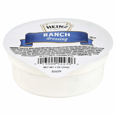 Heinz Ranch Dressing, 2-Ounce Dipping Cups (Pack of 60)