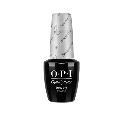 OPI Breakfast at Tiffany's Collection Holiday 2016 GelColor Gel Polish Girls Love Pearls #HPH13