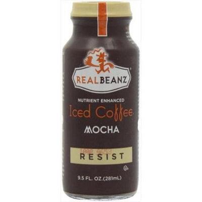 Real Beanz Iced Coffee Resist Mocha 9.5 fl oz