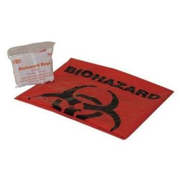 PAC-KIT 21-022B1G Biohazard Bag,24 x 24,Bagged