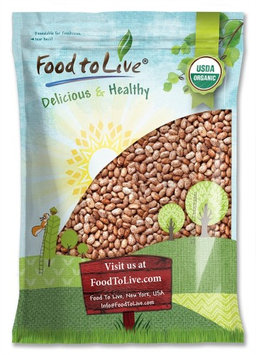 Food to Live Certified Organic Pinto Beans (Non-GMO, Bulk) (20 Pounds)
