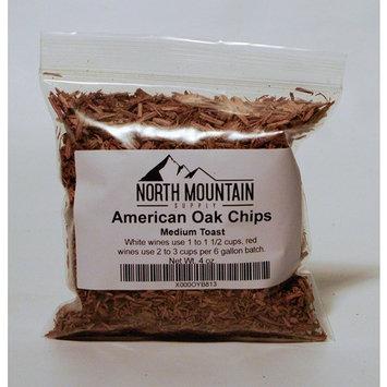 North Mountain Supply American Oak Chips (Medium Toast, 4 Ounce)