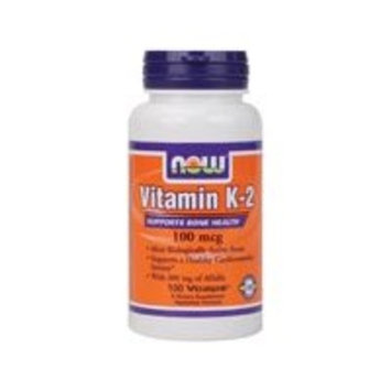 NOW Vitamin K-2 100 mcg,100 Veg Capsules [1]