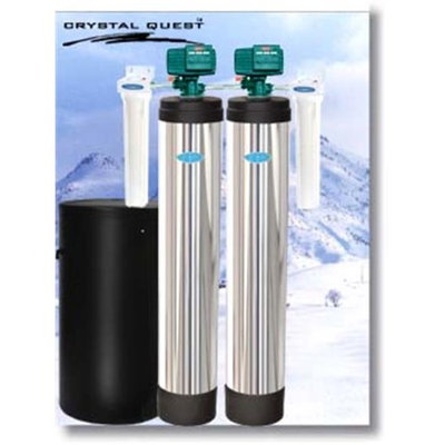 Crystal Quest CQE-WH-01183 Whole House Multi-Tannin 1.5 Water Filter System