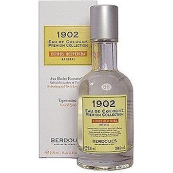 Berdoues Beauty Gift 1902 Natural Cologne 3.3 oz Eau De Cologne Spray for Men