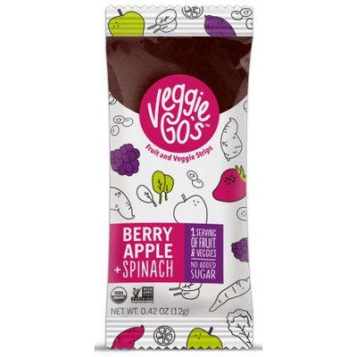 The Naked Edge Veggie-Go's Berry Apple & Spinach Fruit Strips 0.42oz