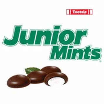 Junior Mints Chocolate Mint Candy 2.6-Ounce King Size Packs - 12 Boxes