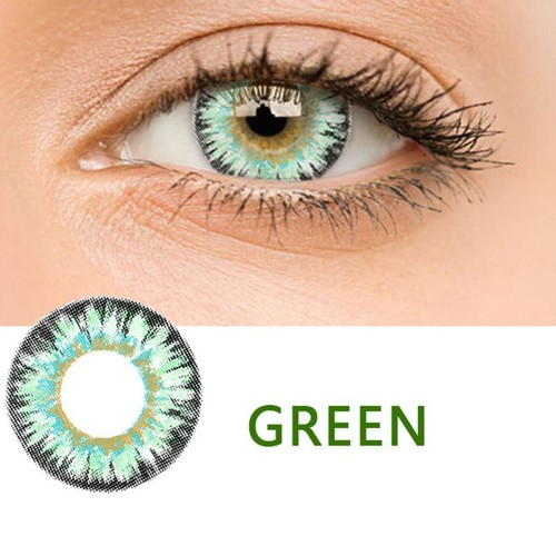 Women High Quality Materials Multicolor Cute Charm and Attractive Contact Lenses DEYAD