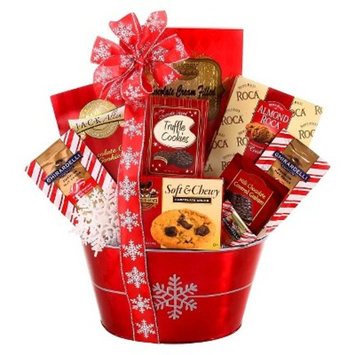 Alder Creek Gifts Holiday Sweets & Treats Gift Basket - 3lbs
