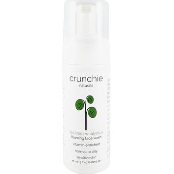 Crunchie Naturals Tea Tree Eucalyptus Foaming Face Wash