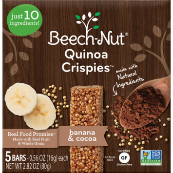 Beech-Nut® Banana and Cocoa Quinoa Crispies
