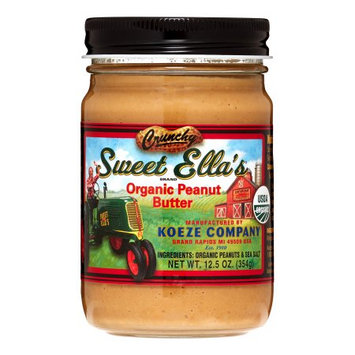 Cream-nut And Sweet Ella's PNUT BUTTER, OG1, CRUNCHY, (Pack of 12)