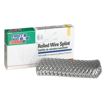 First Aid Only Rolled Wire Splint, 3-3/4