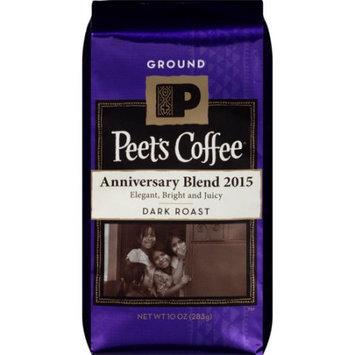 Peet's Coffee & Tea Peet's Coffee Anniversary Blend 2015 Dark Roast Ground Coffee, 10 oz
