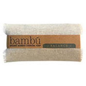 Bambu Soaps 231623 4.5 oz Lavender Plus Eucalyptus Organic Bambu Charcoal Balance Body Soap