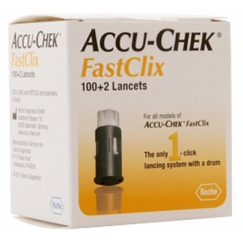 ACCU-CHEK FastClix Lancets 102 Each