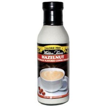 Coffee Creamer by Walden Farms Hazelnut 12 fl oz. pack of 2