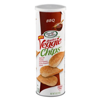 Sensible Portions Garden Veggie Chips, BBQ, 5 Oz
