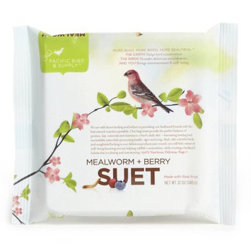 Pacific Bird & Supply Co Inc 2 Packs MEALWRM BERRY SUET