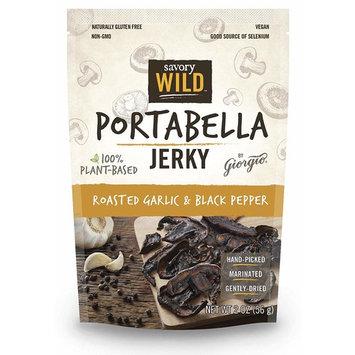 Roasted Garlic & Black Pepper Portabella Jerky