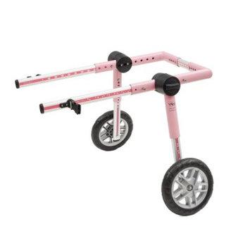 Dog Wheelchair For Medium Dogs 26-69 lbs Pink - By Walkin' Wheels