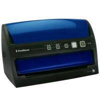 FoodSaver V3235 Vertical Flip Vacuum Sealing System Blue w/ Accessories