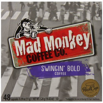 Mad Monkey Single Serve Realcup For Keurig K-Cup Brewers - Swingin'.