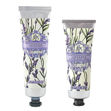 Somerset Toiletry Co. AAA Floral Body Cream and Hand Cream 2-Piece Set - Lavender