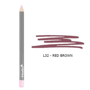 (3 Pack) Nabi Cosmetics Lip Pencil Red Brown : Beauty