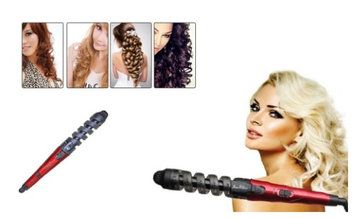 Yphone Curlicue Spiral Shape Hair Curling Iron Styling Tool