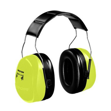Aearo Co 3M Peltor Optime 105 High-Viz Green Over-The-Head Earmuffs