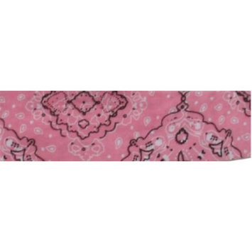 COOLDANNA, 100% COTTON, PINK PAISLEY