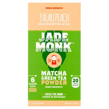 Jade Monk Palau Peach Matcha Green Tea Powder, .24 oz, 6 pack