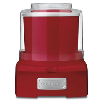 Cuisinart ICE-21R Frozen Yogurt-Ice Cream & Sorbet Maker- Red, Factory Reconditioned