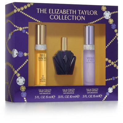 The Elizabeth Taylor Collection Gift Set for Women with Bonus Celebrity Voice Ringtone, 3 pc