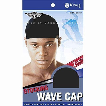 (6 Pack) King J -Stocking Wave Cap #061 : Beauty