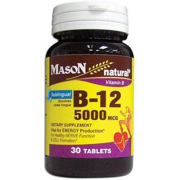 Mason Natural B-12 5000 mcg Tablets 30 ea