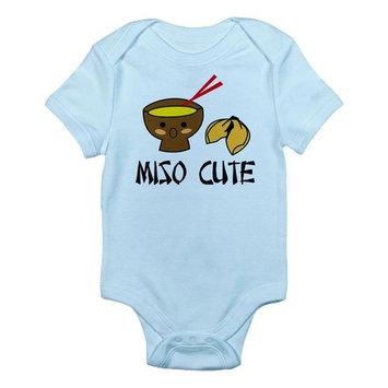 CafePress Baby Miso Cute Infant Bodysuit