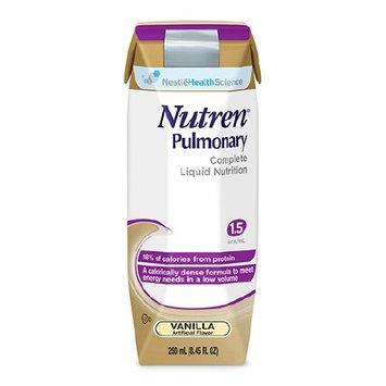 Nutren Pulmonary Vanilla, 250 mL, Carton, Ready to Use, Case of 24 10 Pack