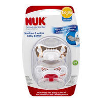 Nuk Usa, Llc NUK 14240 Football and Baseball Orthodontic Pacifier, 18-36 Months, 2-Pack