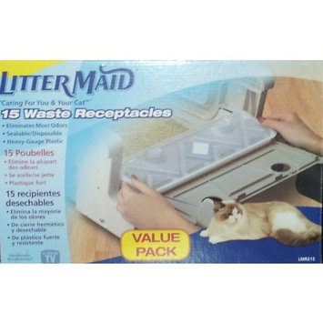 Litter Maid 15 Waste Receptacles Value Pack LMR215