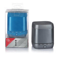 Q Experience QAA14AV004 Cube Mono Bluetooth Speaker - Blue