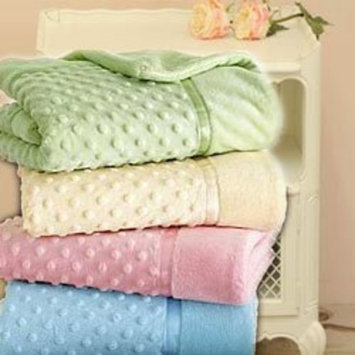 Heavenly Soft Toddler Blankets - Color: Pink