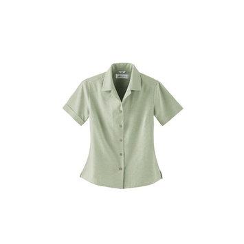 Il Migliore 77018 Ladies' Silk Small Jacquard Shirt Button Down
