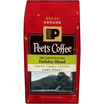 Peet's Coffee & Tea Peet's Coffee Decaffeinated Holiday Blend Dark Roast Ground Coffee, 12 oz