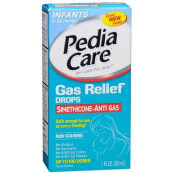 Pedia Care Gas Relief Drops for Infants & Children 1 Ounce (Pack of 3)