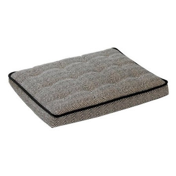 Bowsers Pet Products 11213 Small Luxury Crate Mattress Herringbone